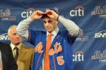 David Wright puts on his Mets cap  Ben Platt/MLB.com