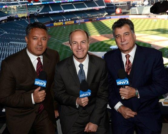 1 - Gary Cohen, Ron Darling, Keith Hernandez 2013